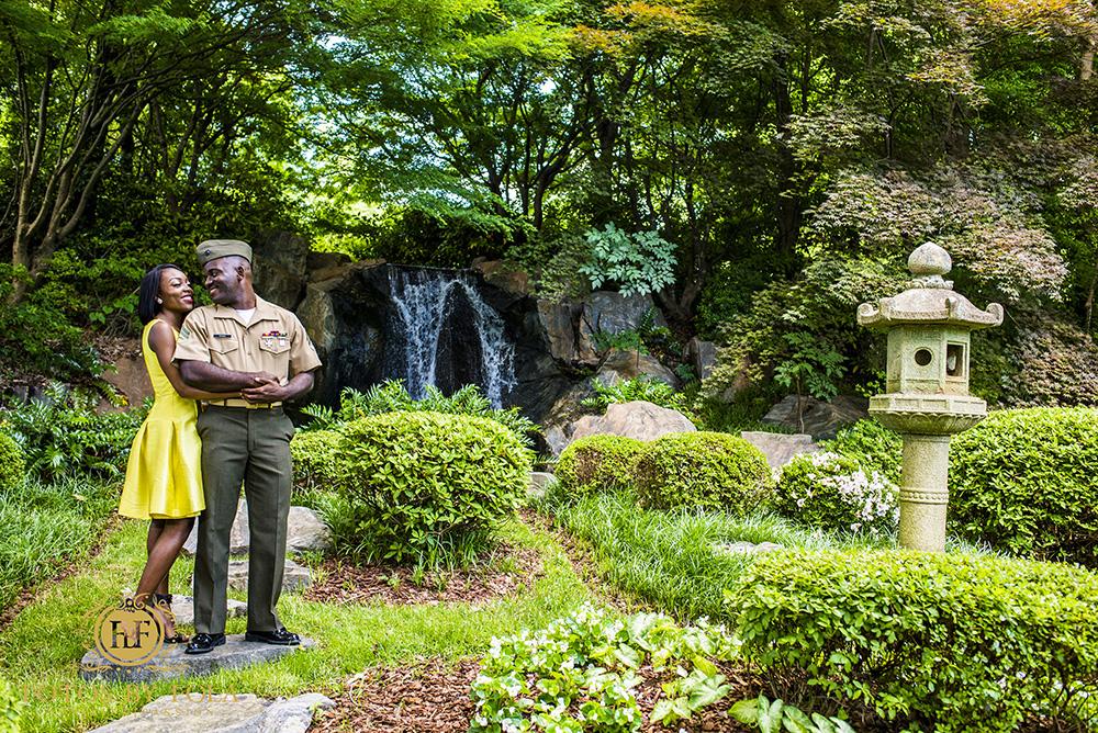 Carter Center   Japanese Garden   Midtown Atlanta Engagement Session   Fotos by Fola